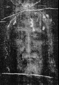 Negatyw twarzy Chrtystusa z Całunu Turyńskiego