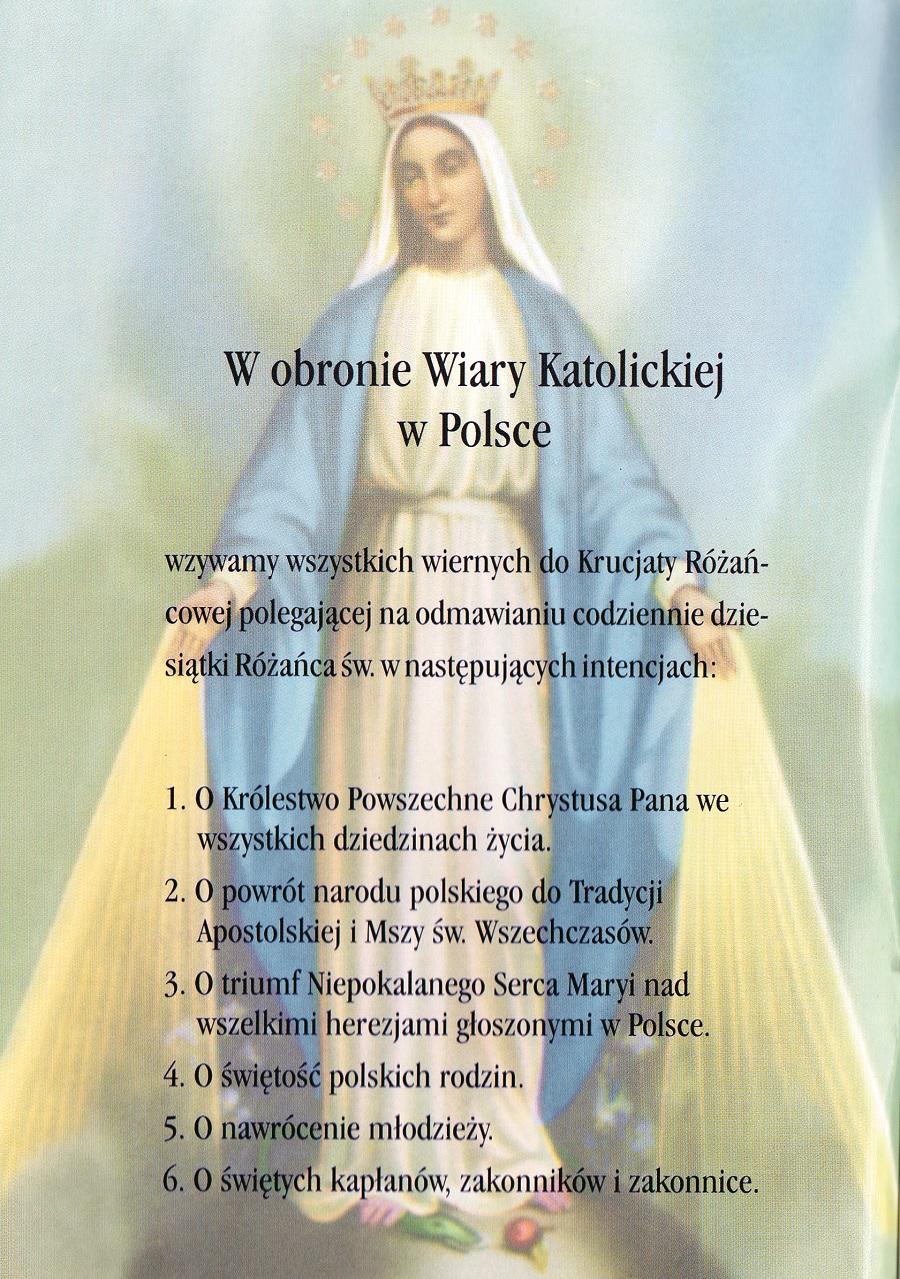 Krucjata Różańcowa za Ojczyznę22